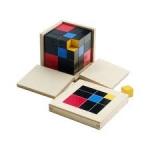 Binomial Cube Wooden Model